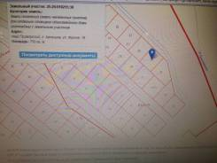Продам земельный участок. 750 кв.м., от агентства недвижимости (посредник). Схема участка