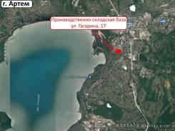 Качественный отапливаемый склад 4200 кв. м. 4 200 кв.м., улица Гагарина 17а, р-н Углового