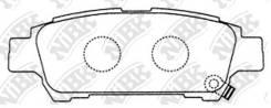 Колодки тормозные дисковые PN1449 [ящик 10 шт] PN1449 PN1449