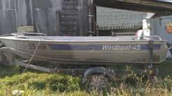 Windboat. Год: 2012 год, длина 4,50м., двигатель без двигателя, 40,00л.с., бензин