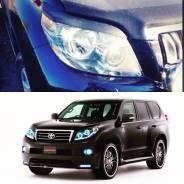 Накладка на фару. Toyota Land Cruiser Prado, GRJ150W, GRJ150L, GRJ150 Двигатель 1GRFE