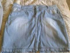Юбки джинсовые. 52
