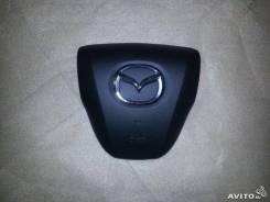 Подушка безопасности Крышка в руль (муляж airbag) Mazda 3 BL 2008-, задняя