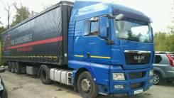 MAN TGX 18.440. 2008г. + krone SDP 27 2004г, 10 518 куб. см., 36 000 кг.