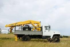 ГАЗ-33081. Машина бурильно-кранорвая, 1 300 кг.