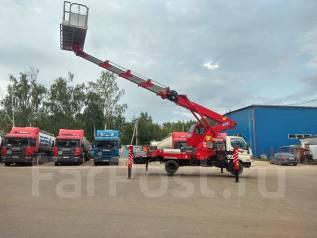 Horyong Sky. В наличии, новая автовышка, вылет 28 м. горизонт 20 м. люлька 400 кг., 4 000 куб. см., 28 м.