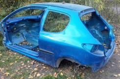 Порог левый для Пежо 206 Peugeot 206, задний