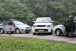 Полицейский-водитель. Батальон полиции. Москва