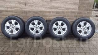 Новые оригинальные колеса Bridgestone А/Т на LX 450, LX 570, LC 200. 8.0x18 5x150.00 ET56 ЦО 110,0мм.