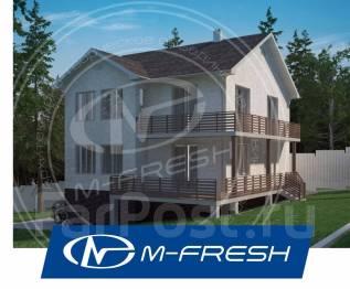M-fresh Santa Monica Plus! -зеркальный (В доме терраса и цоколь). 300-400 кв. м., 2 этажа, 5 комнат, бетон