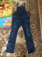 Комбинезоны джинсовые. 54