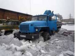 Урал 4320. Буровая установка ПБУ-2-128 на Урале-4320