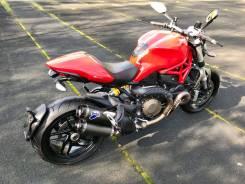 Ducati Monster 1200. 1 200 куб. см., исправен, без птс, без пробега. Под заказ