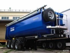 Grunwald. Самосвальный полуприцеп Gr-TSt 31, 34 куб. м. Новые!, 29 300 кг.