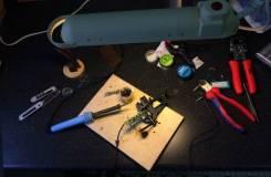 Ремонт наушников, пайка проводов и разъёмов