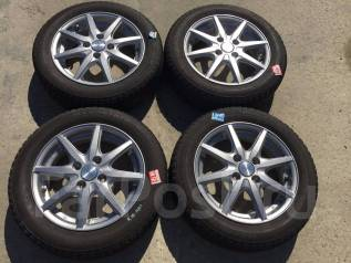 155/65 R14 Bridgestone Ice Partner литые диски 4х100 (K10-1401). 4.5x14 4x100.00 ET45
