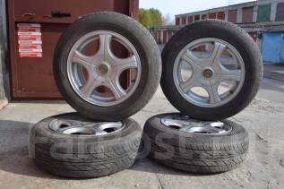 Комплект колес на летней резине на 15. 6.5x15 5x100.00, 5x114.30 ET35