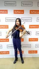 Музыкант (скрипачка) Скрипка на праздник, музыкальное сопровождение
