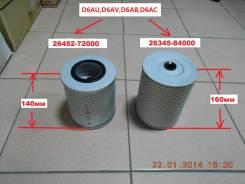 Фильтр масляный. Hyundai Aero Двигатели: D8AB, D8AW, D8AY