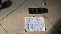 Блок управления стеклоподъемниками. Daihatsu Boon, M600S Toyota Passo, KGC30