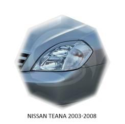 Накладка на фару. Nissan Teana, PJ31, J31, TNJ31 Двигатели: VQ35DE, QR20DE, VQ23DE, QR25DE