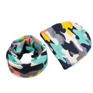 Шапка и шарф. Рост: 80-86, 86-92, 92-98, 98-104, 104-110 см