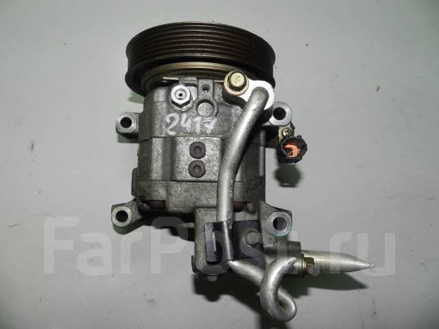 Компрессор кондиционера. Nissan: Bluebird Sylphy, X-Trail, Sunny, Primera Camino, Expert, Avenir, Primera, Tino, Bluebird Двигатели: QG15DE, QG18DE, S...
