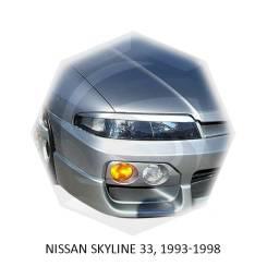 Накладка на фару. Nissan Skyline, ENR34, ER34, HR34 Двигатели: RB20DE, RB20DET, RB25DE, RB25DET