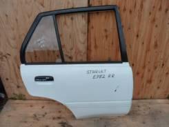 Дверь боковая задняя правая Toyota Starlet EP82