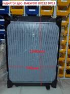Радиатор охлаждения двигателя. Daewoo BH120