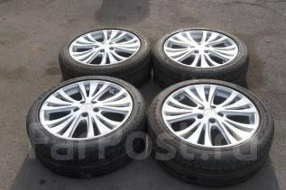 #Продам комплект колес, возможна отправка. 7.5x18 5x114.30 ET45 ЦО 72,0мм.