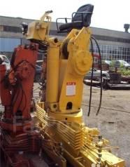 Soosan. Кран - манипулятор 736, Кму 7 тонн, Краны, 1 000 куб. см., 6 600 кг., 18 м.