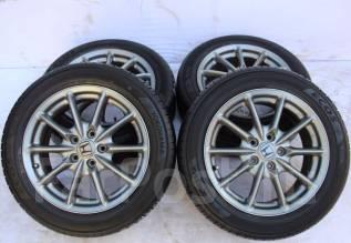 Колёса с шинами =Honda= R17! 2016 год! Более 7 мм! (№ 62288). 7.0x17 5x114.30 ET55