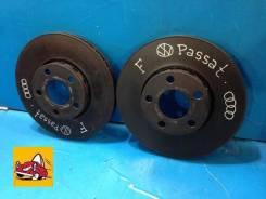 Диск тормозной. Volkswagen Passat, 3B3, 3B6, 3B