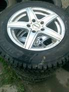 "Колеса Dunlop на литых дисках на 15. 6.5x15"" 5x112.00 ET45"