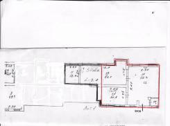 Продам просторное 150 м. кв. помещение в жилом доме. Улица Мусоргского 13, р-н Седанка, 149 кв.м. План помещения