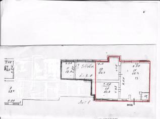 Продам просторное 150 м. кв. помещение в жилом доме. Улица Мусоргского 13, р-н Седанка, 149кв.м. План помещения