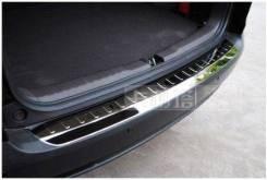 Накладка на бампер. Honda CR-V, RM1, RE5, RM, RM4, RE4, RE3, RE7