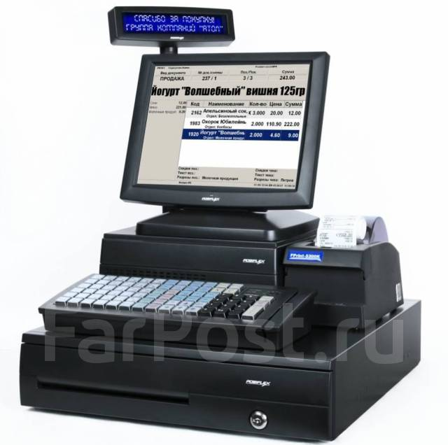 POS-оборудование, онлайн-кассы, сканеры и принтеры штрих-кода.