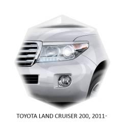 Накладка на фару. Toyota Land Cruiser, HDJ100L, HZJ71, UZJ200, URJ202W, HZJ77HV, BJ70, HZJ77V, PZJ77V, UZJ200W, HZJ70V, FZJ105, HZJ73V, PZJ77HV, HDJ10...