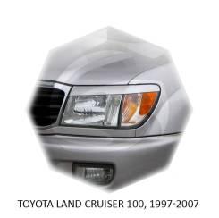 Накладка на фару. Toyota Land Cruiser, FZJ105, HDJ100, HDJ100L, HDJ101K, HZJ105, HZJ105L, HZJ71, HZJ71V, HZJ74, HZJ74K, HZJ74V, HZJ76, HZJ76K, HZJ76L...