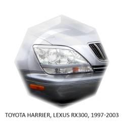 Накладка на фару. Toyota Harrier Lexus RX300, MCU10 Двигатель 1MZFE