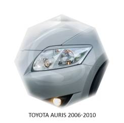 Накладка на фару. Toyota Auris, NRE150, ZRE152H, NZE151H, NZE154H, ZRE154H, ZRE151 Двигатели: 4ZZFE, 2ZRFE, 1NZFE, 1ZRFE