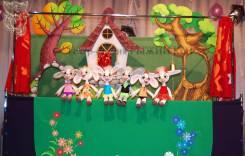 Кукольные спектакли для детей! Настоящий кукольный театр