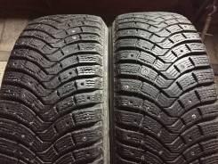 Michelin Latitude X-Ice North 2. Зимние, шипованные, износ: 5%, 2 шт