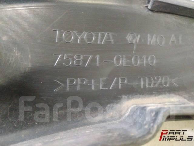 Накладка на крыло. Toyota Highlander, ASU50, ASU50L, GSU50, GSU55, GSU55L, GVU58 Toyota Kluger V, ASU50, GSU50, GSU55 Двигатели: 1ARFE, 2GRFE, 2GRFKS...