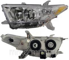 Toyota highlander 10-13 Фара левая 8117048540 для хайландер