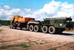 КЗКТ-7428-011. Продается тягач КЗКТ-7428 «Русич» с полуприцепом МАЗ-5247, 25 860 куб. см., 52 000 кг.