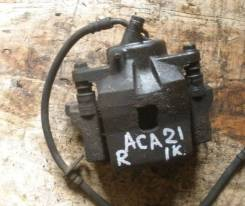 Суппорт тормозной. Toyota RAV4, ACA20, ACA20W, ACA21, ACA21W, ACA22, ACA23, ACA26, ACA28, CLA20, CLA21, ZCA25, ZCA25W, ZCA26, ZCA26W Двигатели: 1AZFE...