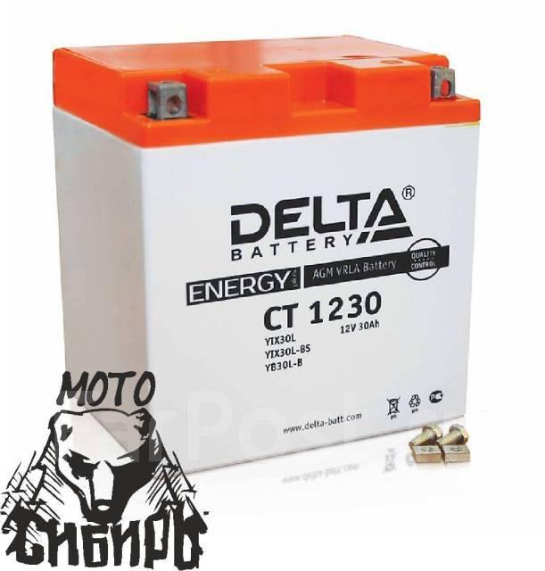 Аккумулятор Delta CT1230 Cfmoto X6, X8 - Мотозапчасти в